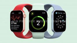 Apple Watch Series 7 Flat Edges Render