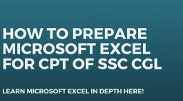 How to prepare Microsoft Excel for CPT of SSC CGL